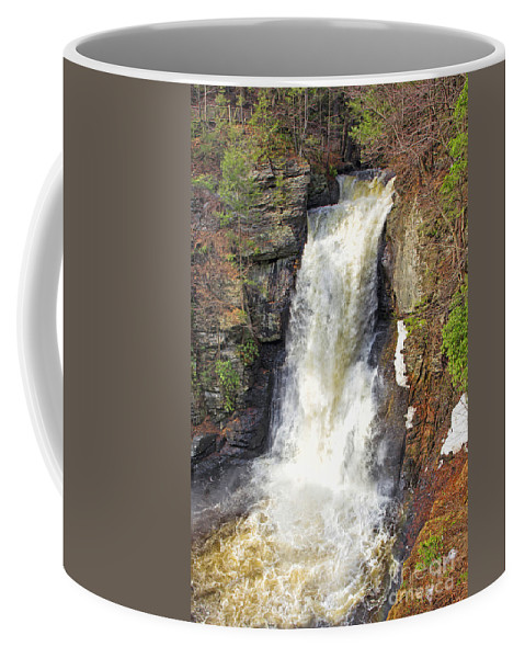 Water Coffee Mug featuring the photograph Waterfall by Paul Fell
