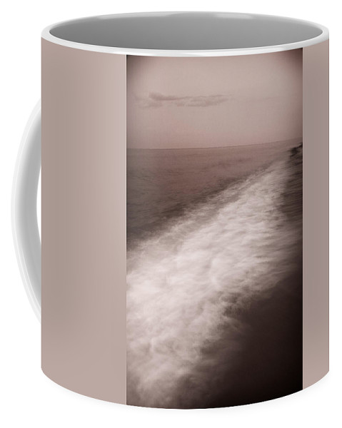 Abstract Coffee Mug featuring the photograph Wave Form by Steve Gadomski