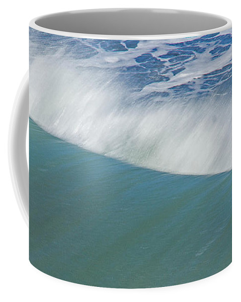 Wave Coffee Mug featuring the photograph Wave by Kris Hiemstra