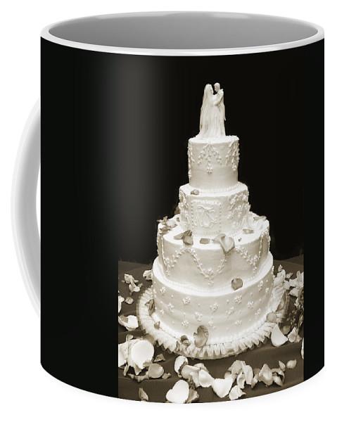Wedding Coffee Mug featuring the photograph Wedding Cake by Marilyn Hunt