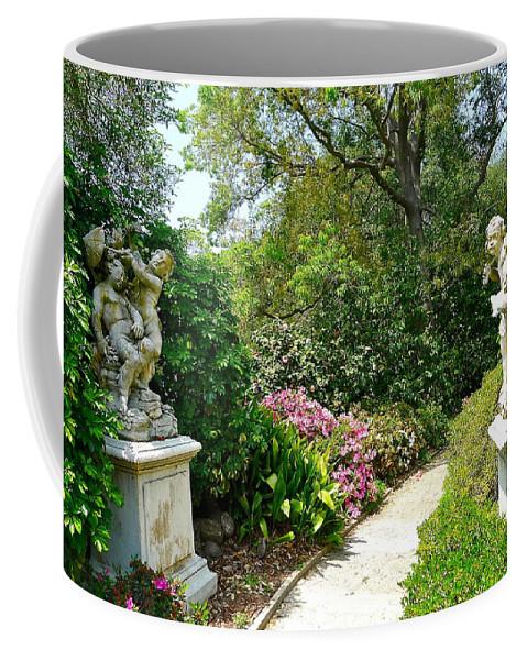 Garden Coffee Mug featuring the photograph Welcome To My Garden by Denise Mazzocco