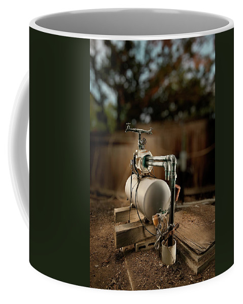Mechanical Coffee Mug featuring the photograph Well Pump by Yo Pedro