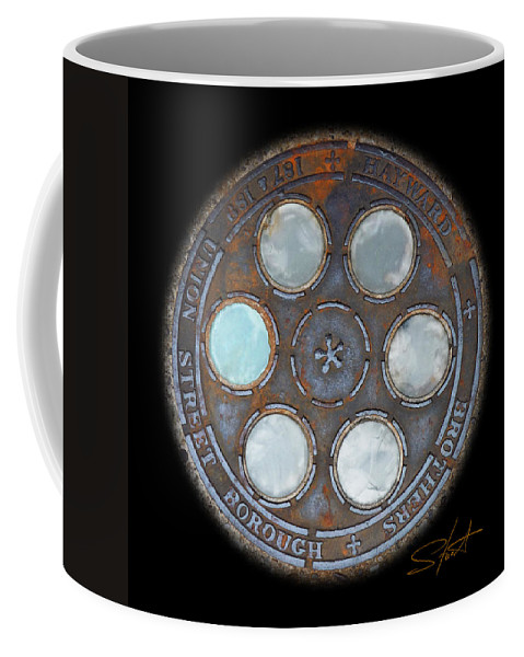 Circle Coffee Mug featuring the photograph Wheel by Charles Stuart