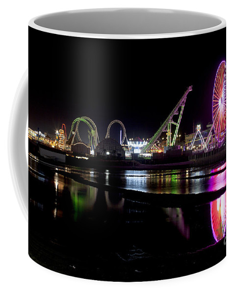 New Jersey Coffee Mug featuring the photograph Wildwood New Jersey by Anthony Totah