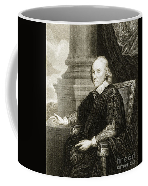 Science Coffee Mug featuring the photograph William Harvey, English Physician by Wellcome Images