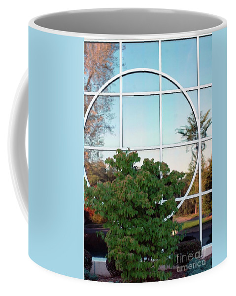 Window Coffee Mug featuring the photograph Window Reflections by Kathleen Struckle