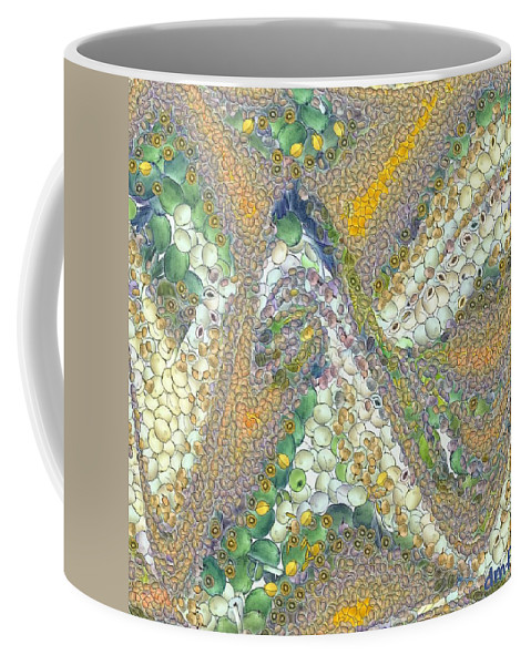 Winter Coffee Mug featuring the painting Winter by Dragica Micki Fortuna