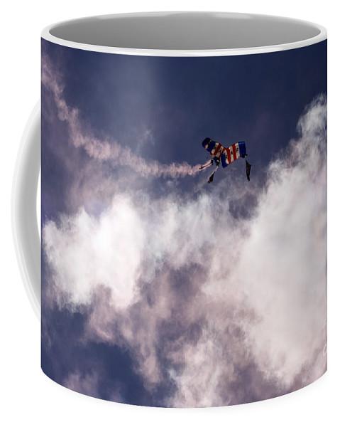 Raf Falcons Coffee Mug featuring the photograph Raf Falcons by Angel Tarantella