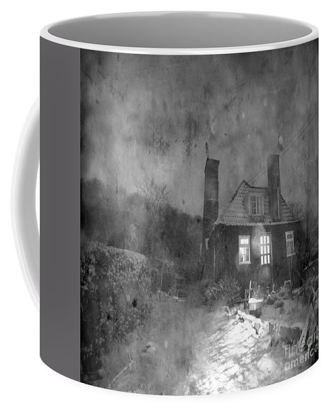 Shack Coffee Mug featuring the photograph The Winter Time by Angel Tarantella