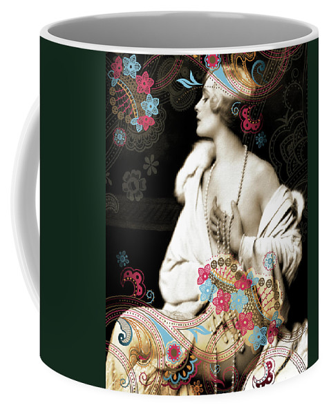 Nostalgic Seduction Coffee Mug featuring the photograph Goddess by Chris Andruskiewicz