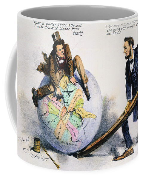 1864 Coffee Mug featuring the photograph Presidential Campaign, 1864 by Granger