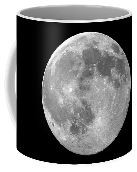 Moon Coffee Mug featuring the photograph Moon by FL collection