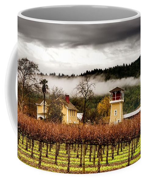 Napa Valley Coffee Mug featuring the photograph Napa Valley Vineyard by Mountain Dreams