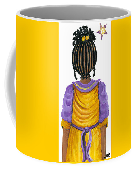 Coffee Mug featuring the painting Nickie by Sonja Griffin Evans