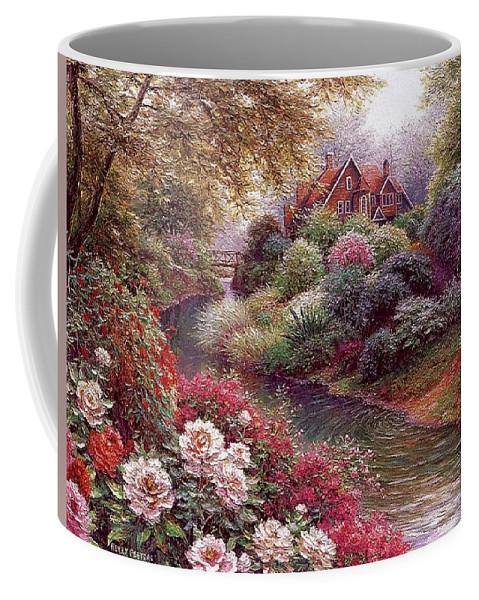 Shrub Coffee Mug featuring the digital art lrs Peeters Henry No Tltle Henry Peeters by Eloisa Mannion