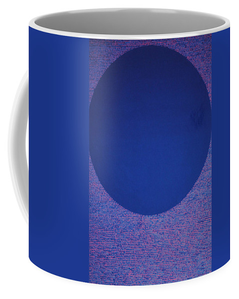 Inspirational Coffee Mug featuring the painting Perfect Existence by Kyung Hee Hogg