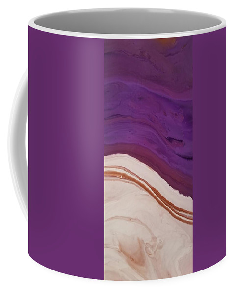 Abstract Coffee Mug featuring the painting 14840 by Paulina Roybal