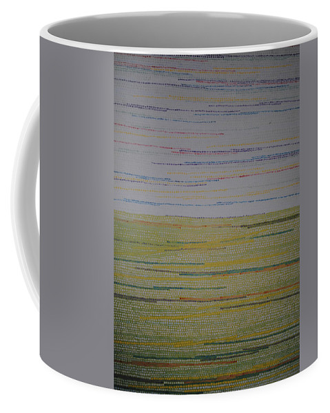 Inspirational Coffee Mug featuring the painting Identity by Kyung Hee Hogg