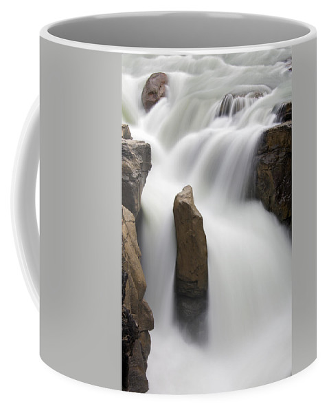 Sunwapta Falls Coffee Mug featuring the photograph 151124p035 by Arterra Picture Library