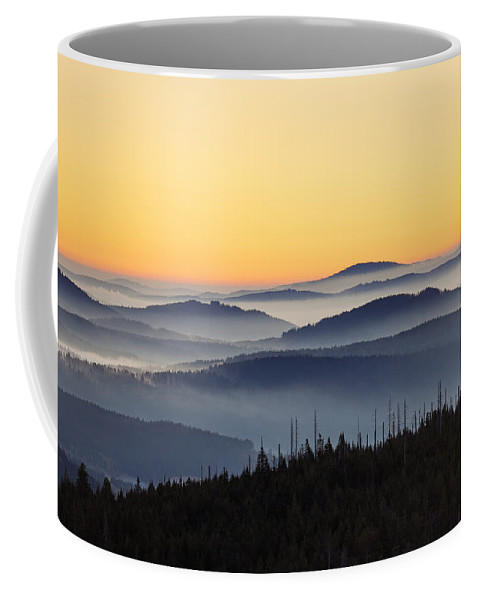 Mount Lusen Coffee Mug featuring the photograph 151207p109 by Arterra Picture Library