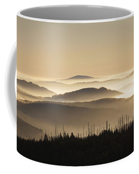 Mount Lusen Coffee Mug featuring the photograph 151207p110 by Arterra Picture Library
