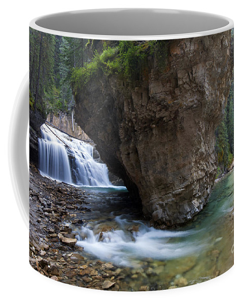 Johnston Canyon Coffee Mug featuring the photograph 151207p148 by Arterra Picture Library