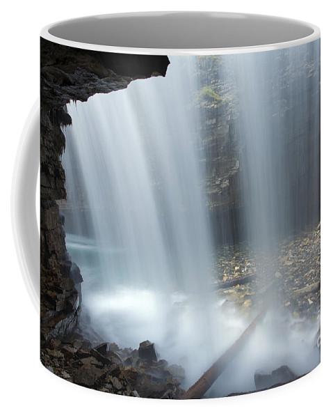 Johnston Canyon Coffee Mug featuring the photograph 151207p151 by Arterra Picture Library