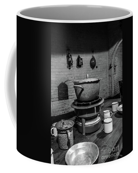 Old Bildings Coffee Mug featuring the photograph Fort Asperen by Brothers Beerens