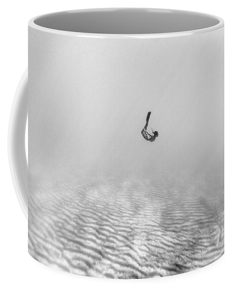Swim Coffee Mug featuring the photograph 160819-8644 by Enric Gener