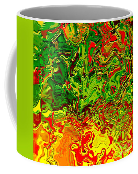 Abstract Coffee Mug featuring the digital art 1683 Abstract Thought by Chowdary V Arikatla