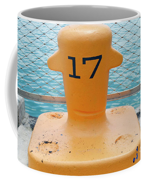 17 Coffee Mug featuring the photograph 17 At Navy Pier by Pamela Walrath
