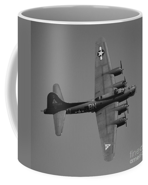 B Coffee Mug featuring the photograph 17 In Black And White by Richard Booth