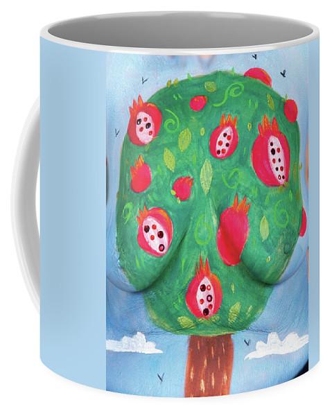 Hadassah Greater Atlanta Coffee Mug featuring the photograph 17. Jessica Ruiz, Artist, 2017 by Best Strokes - formerly Breast Strokes - Hadassah Greater Atlanta