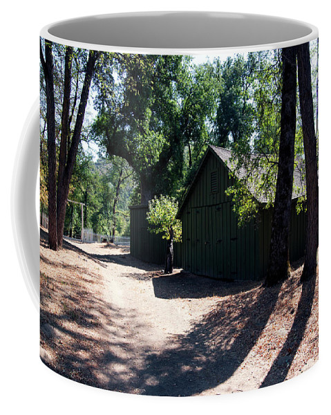 Rmb2014091200057 Coffee Mug featuring the photograph Whiskeytown National Recreation Area by Robert Braley