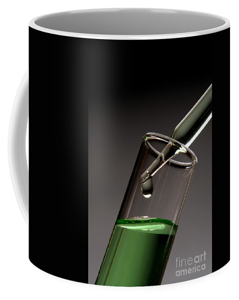 Chemical Coffee Mug featuring the photograph Scientific Experiment In Science Research Lab by Olivier Le Queinec