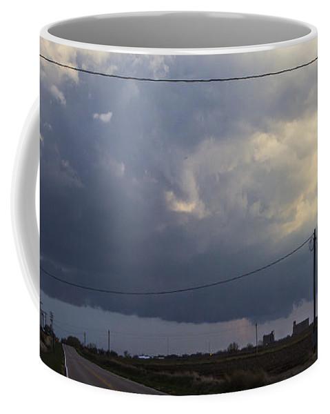Nebraskasc Coffee Mug featuring the photograph 2nd Storm Chase 2015 by NebraskaSC