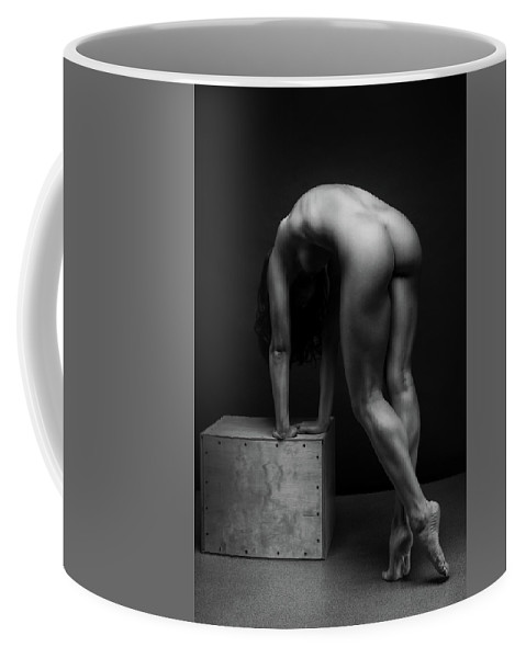 Women Coffee Mug featuring the photograph Bodyscape     by Anton Belovodchenko