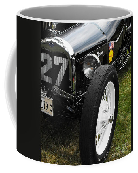 Ford Coffee Mug featuring the photograph 1920-1930 Ford Racer by Neil Zimmerman