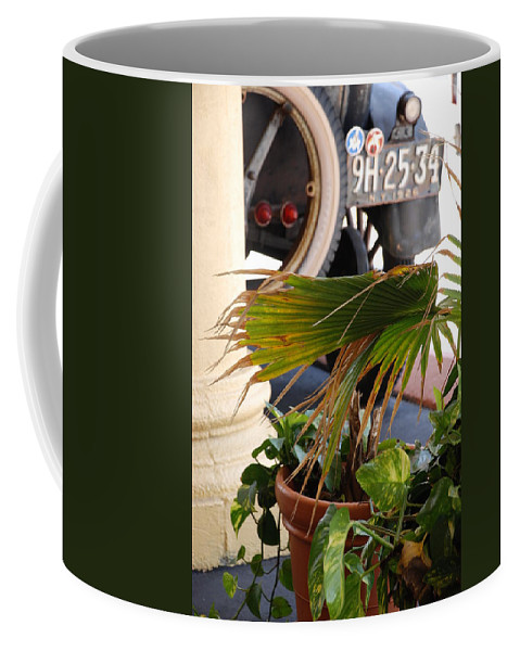 Ford Coffee Mug featuring the photograph 1926 Model T And Plants by Rob Hans
