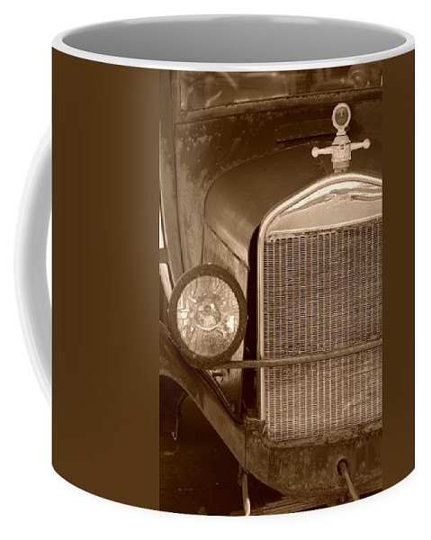 Sepia Coffee Mug featuring the photograph 1926 Model T by Rob Hans