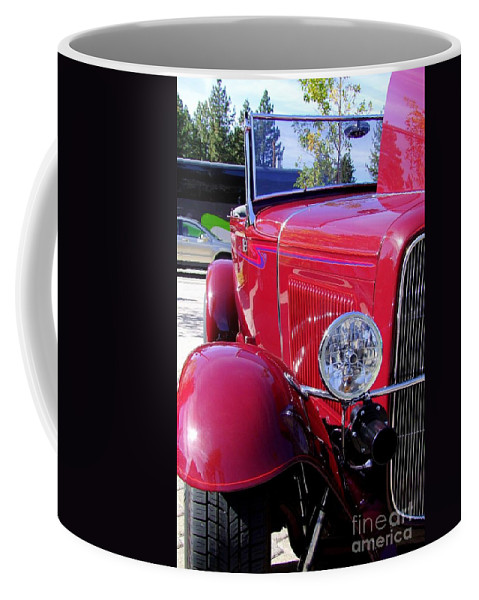 Red Cars Coffee Mug featuring the photograph 1931 Ford by Mary Deal