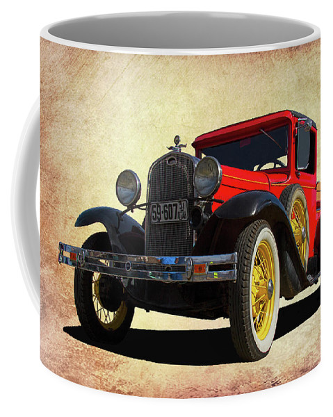 1931 Coffee Mug featuring the photograph 1931 Model A by Nick Gray