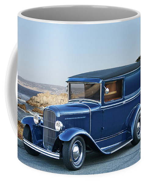 Auto Coffee Mug featuring the photograph 1932 Ford Sedan Delivery II by Dave Koontz