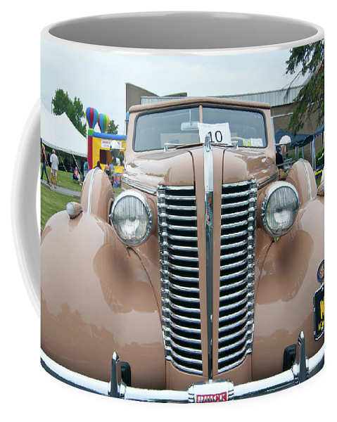 Antique Car Coffee Mug featuring the photograph 1938 Buick 2087 by Guy Whiteley