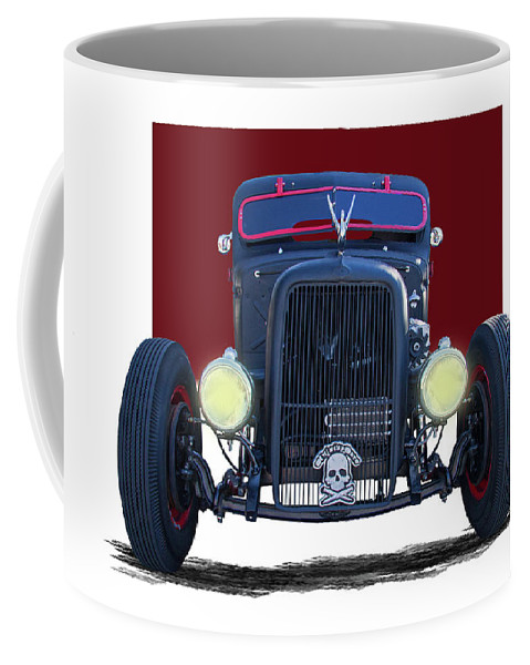 1939 Coffee Mug featuring the photograph 1939 Chevrolet Rat Rod by Nick Gray