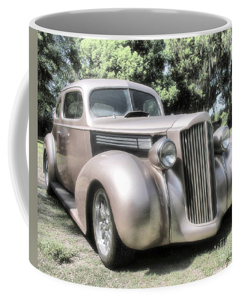 Classic Cars Coffee Mug featuring the photograph 1939 Packard Coupe by Richard Rizzo