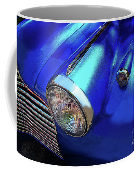 Chevy Coffee Mug featuring the photograph 1940 Chevy Special Deluxe by Rich Walter
