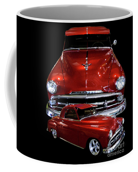 1951 Business Coupe Coffee Mug featuring the photograph 1951 Business Coupe by Peter Piatt