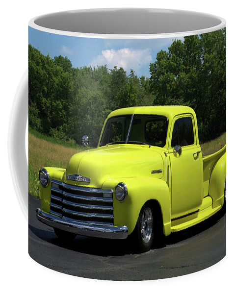 1952 Coffee Mug featuring the photograph 1952 Chevrolet Pickup Truck by Tim McCullough