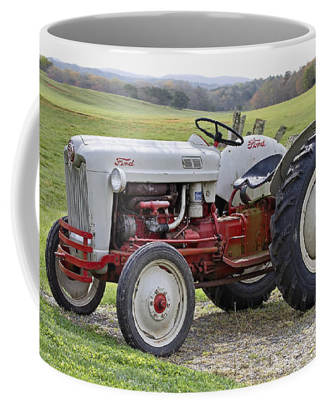 1953 Coffee Mug featuring the photograph 1953 Ford Golden Jubilee Naa by Debra and Dave Vanderlaan
